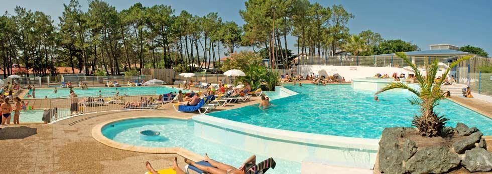 camping landes piscine